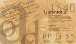 Garamond Claude Garamond 1540 Old Style