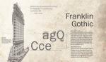 Franklin Gothic Morris Fuller Benton 1902 Sans Serif