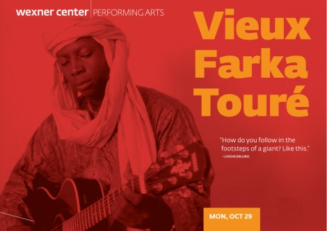 Wexner Center for the Arts: Performing Arts Postcard